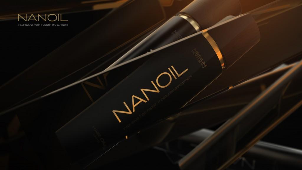 Nanoil natural hair oil